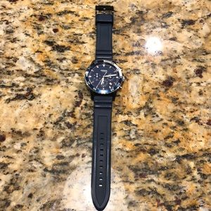 Men's fossil watch blue